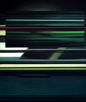 Quer 11 - Öl und Tempera auf Leinwand, 120 x 100 cm, 2011