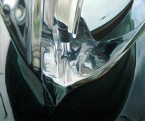 Bug - Öl und Tempera auf Leinwand, 40 x 48 cm, 2010