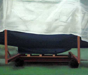 Persenning 2 - Öl und Tempera auf Leinwand, 50 x 60 cm, 2007