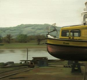 Erna - Öl und Tempera auf Leinwand, 60 x 65 cm, 2008