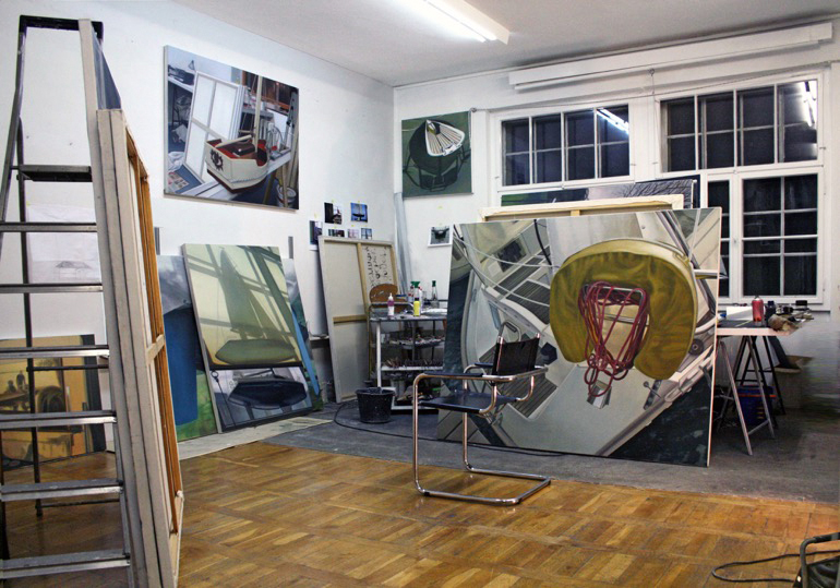 Gemälde und Arbeiten auf Papier in folgenden Sammlungen:
